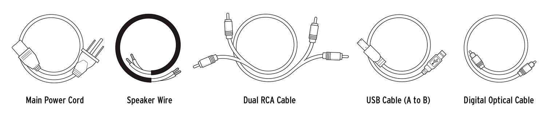 Klipsch R-15PM-kabels