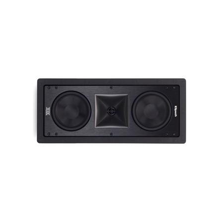 Klipsch PRO-6502-L-THX inbouwluidspreker kleur zwart vooraanzicht
