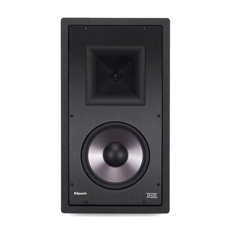 Klipsch PRO-7800-L-THX inbouwluidspreker kleur zwart vooraanzicht