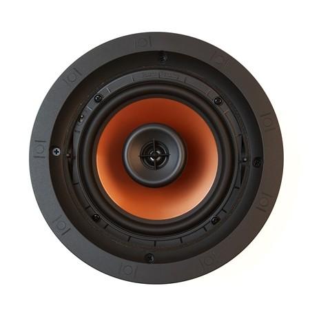 Klipsch CDT-3650-C ronde inbouwluidspreker kleur zwart vooraanzicht