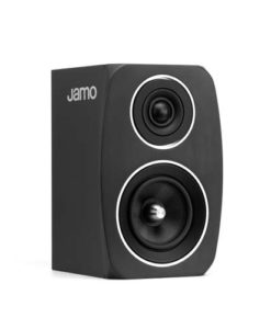 Jamo C 91 boekenplank luidspreker kleur zwart zijaanzicht