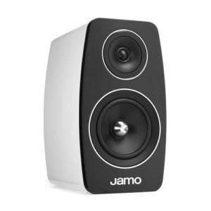 Jamo C 103 boekenplank luidspreker kleur wit zijaanzicht