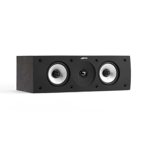 Jamo S 626 center luidspreker kleur zwart zijaanzicht
