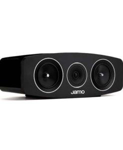 Jamo C 10 center luidspreker kleur zwart zijaanzicht